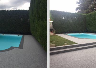 Résines de sols extérieures, terrasse & plage piscine