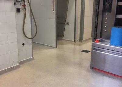 Résines de sols intérieures labo boulangerie