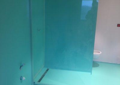 résine salle de bain