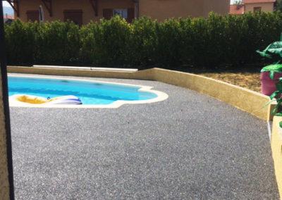 Résine de sol - piscine